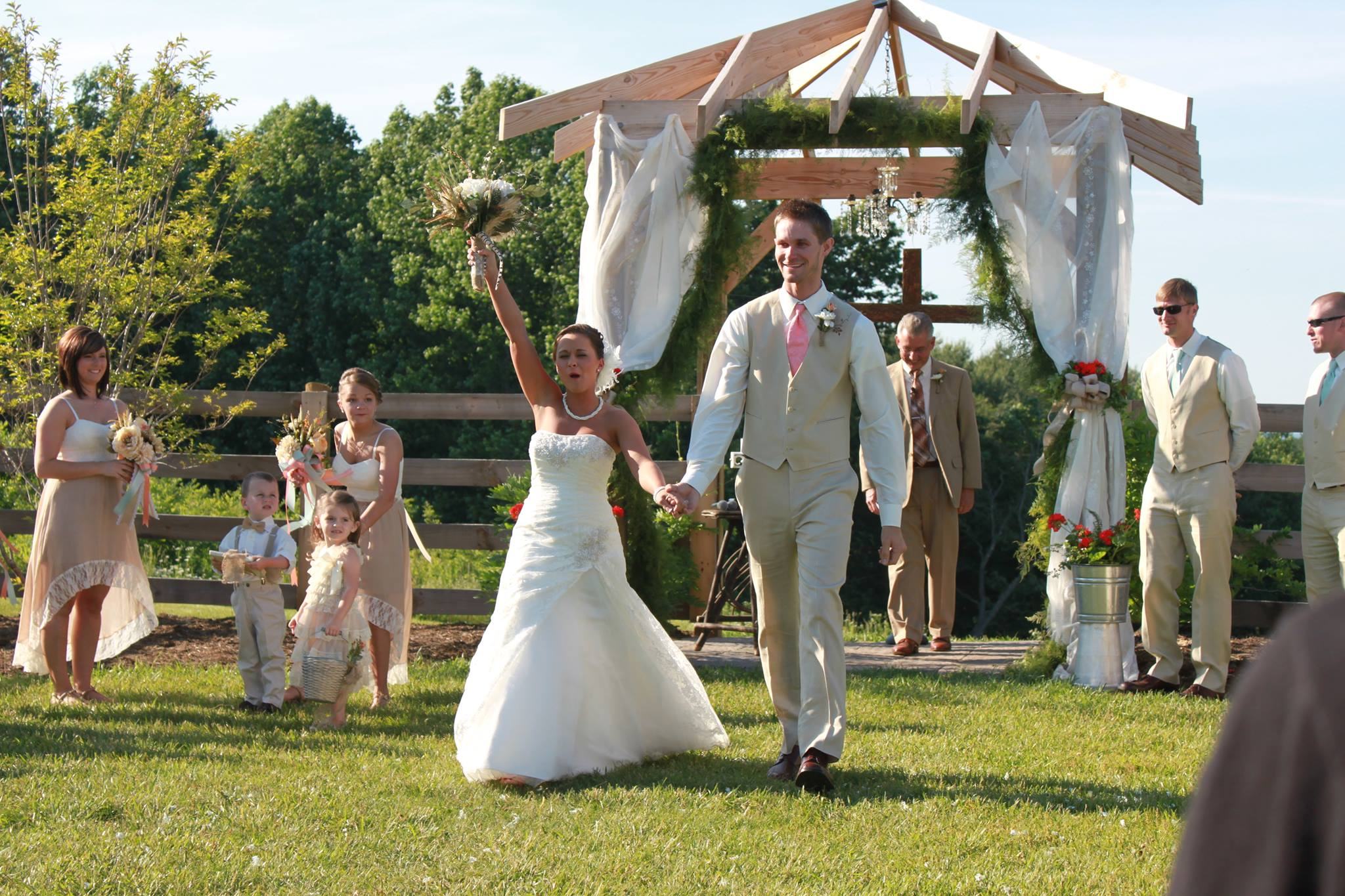 Questions When Planning An Outdoor Wedding Ceremony